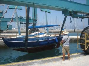 Kos boat lift