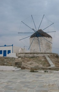 Windmill on Ios, Greece