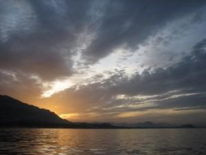 Sailing near Denia