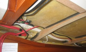 Running wiring on a Yarmouth23