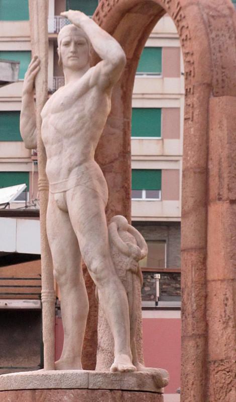 Statue in Genova, Italy