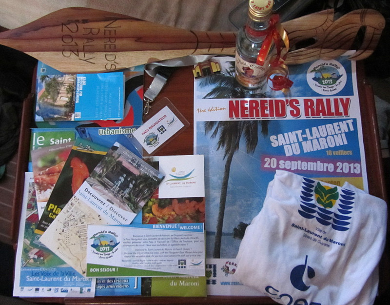 Nereid's Rally welcome pack