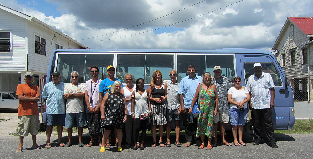 Complimentary Bartica bus tour