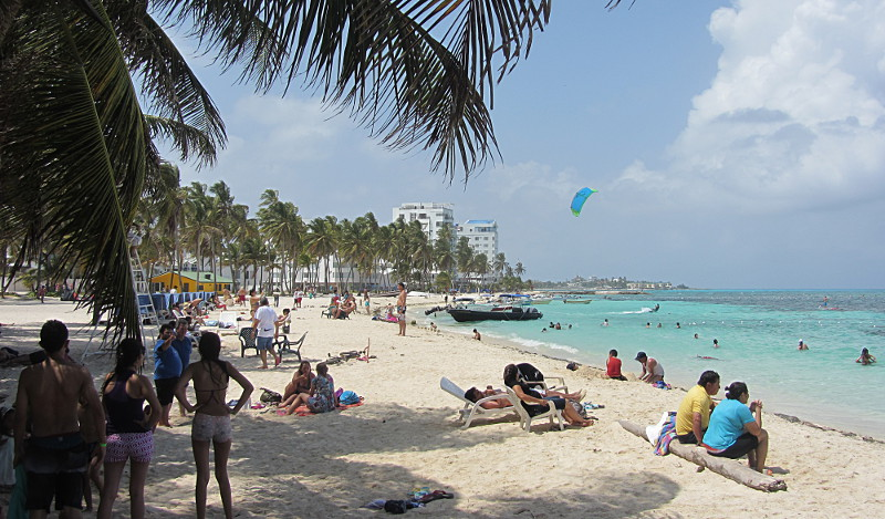 Life is a beach in San Andres