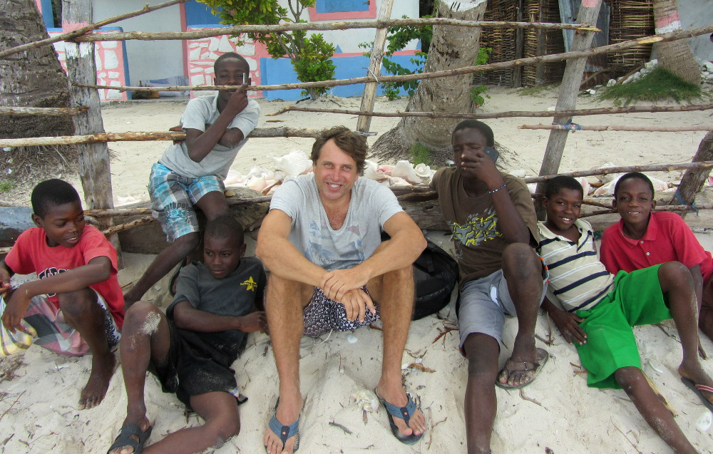 Hanging out with the Haiti gang.