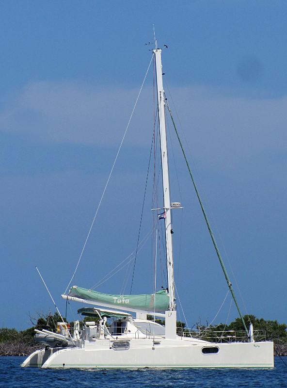 Yacht Tata in Cuba
