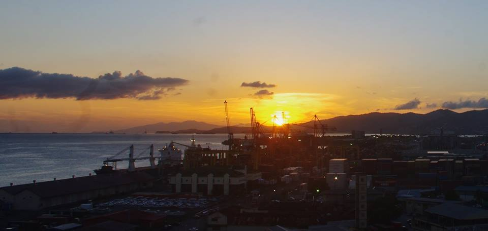 Sunset in Trini
