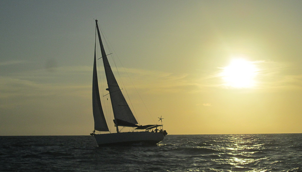 Sailing to Suriname